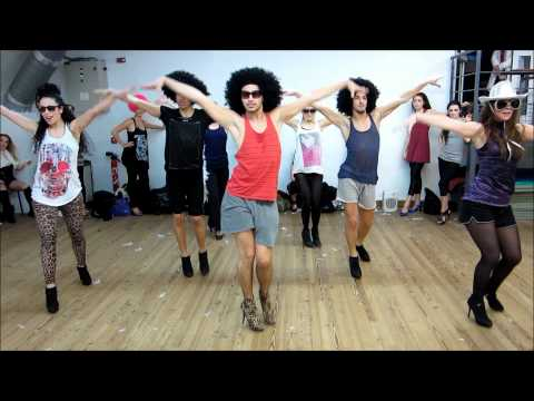 "YANIS MARSHALL CHOREOGRAPHY  ""SHAKE YOUR GROOVE THING"" PEACHES & HERB HEEL'S CLASS STUDIO HARMONIC"