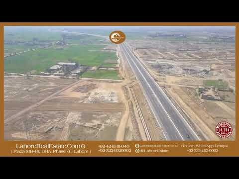 LDA City Lahore Development Status Updates By Drone Of Lahore Real Estate ®  Mar 8 2018