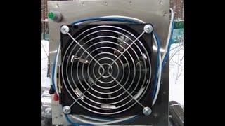 Огляд Теплообмінника ''Вектор ВУ''. Для зимової намети.