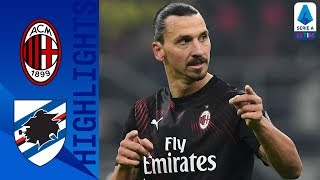 Milan 0-0 Sampdoria | Zlatan Returns to Serie A as Milan Draw with Sampdoria | Serie A TIM