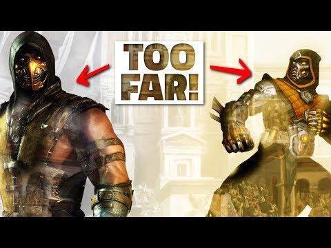 ELIMINATOR RAVANA REMOVED FROM SMITE! Mortal Kombat Scorpion Copyright