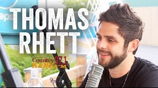 Thomas Rhett Why His Wife Is More Popular Than Him Artist Interview