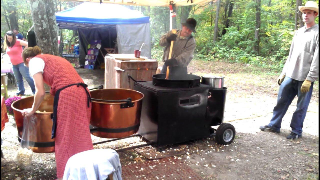 Old Fashioned Kettle Popcorn Maker 9