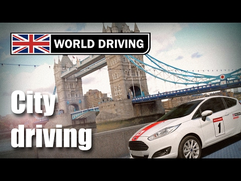 How to use clutch control in the town/city - Learning to drive a manual/stick shift car