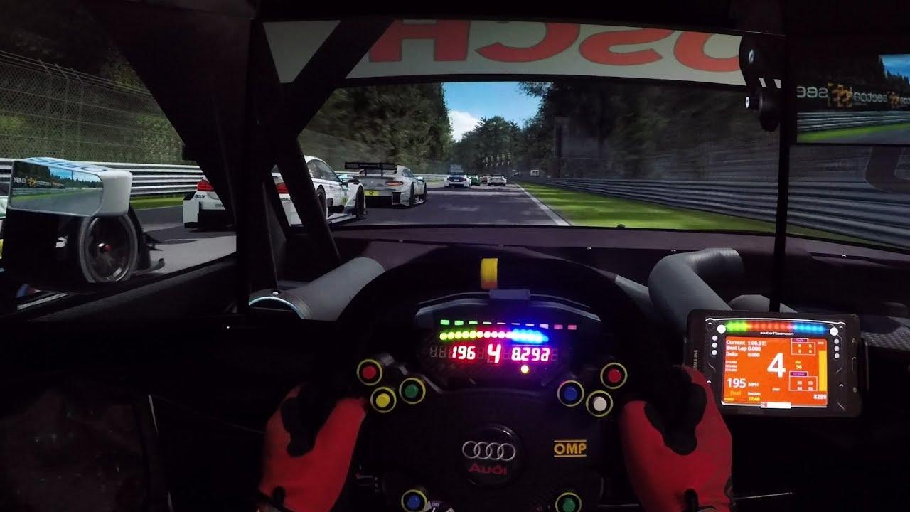 Reality Or Game? Audi DTM @ Monza - Raceroom - YouTube