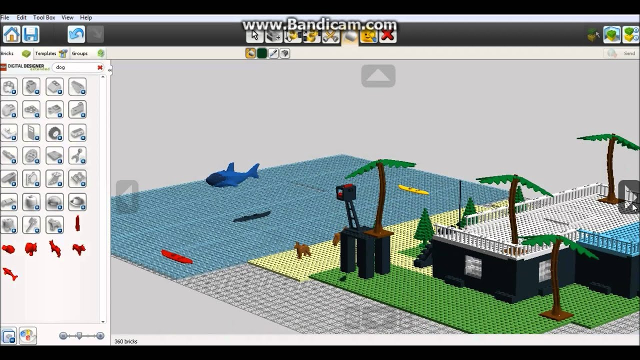 Random Gameplay Episode 2 Lego Digital Designer Part 2 Youtube
