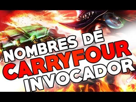 NOMBRES DE INVOCADOR GRACIOSOS 9