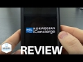 Norwegian iConcierge App Review and Demo - Cruise Ship Wifi