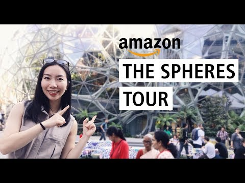 The Spheres (Amazon) Indoor Garden Tour | Huge Rare Plant Collection