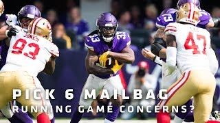 Pick 6 Mailbag: Brian O'Neill's Debut, Beating The Bills, Production From The Running Game | Vikings