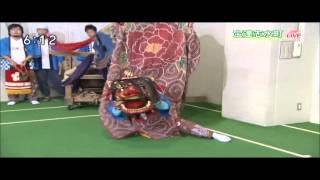 久保町青年団獅子舞 NHKに出演