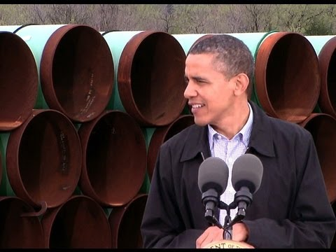President Obama Speaks on Expanding Oil and Gas Pipelines