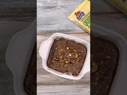 Cómo preparar brownies con quinua