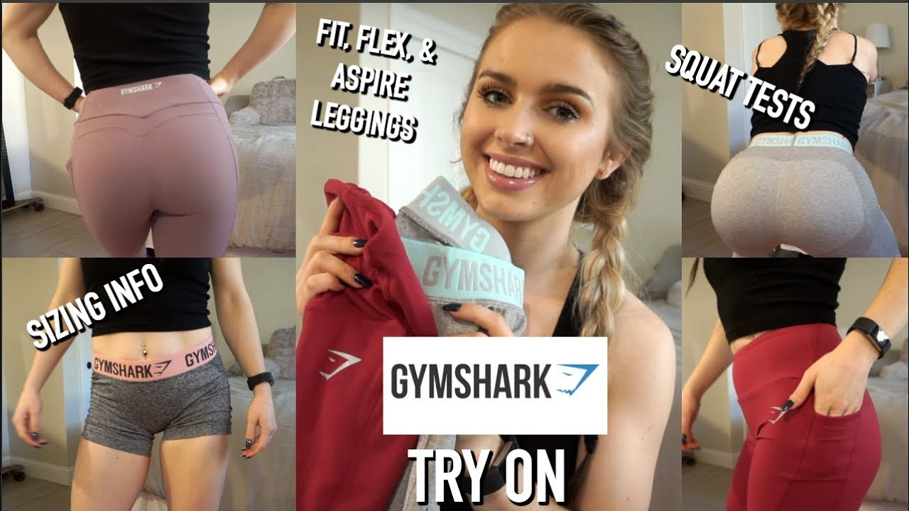 9a70ece948 Gymshark Leggings Try On Haul & Review + Squat Tests & Sizing Info ...