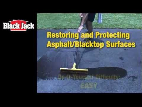 How To Seal Blacktop and Asphalt Driveways
