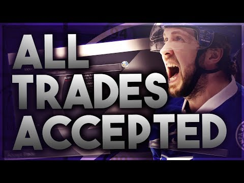 ACCEPTING ALL TRADES WITH THE TAMPA BAY LIGHTNING! (NHL 18 FRANCHISE MODE CHALLENGE)