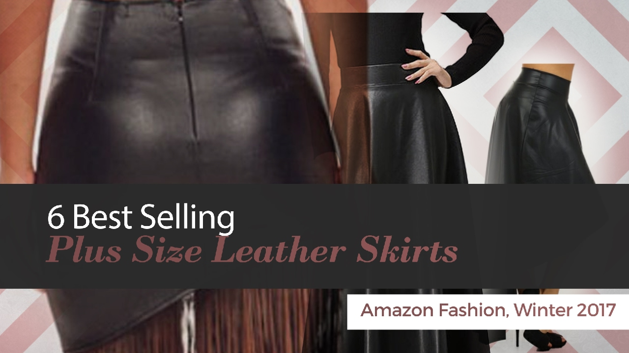 6 Best Selling Plus Size Leather Skirts Amazon Fashion ...