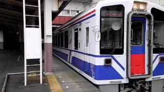 【北越急行】警笛を鳴らして注意を促し 830M越後湯沢駅発車 thumbnail