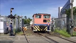 JR東海旅客鉄道 浜松工場西伊場踏切