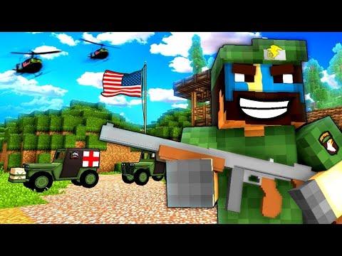 NEW SECRET MISSION! (WAR!) - NAMCRAFT - 8 - (Minecraft Vietnam War Roleplay)