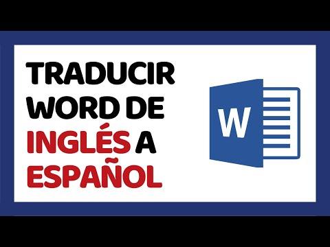 🔴-cómo-traducir-word-de-inglés-a-español-2020-sin-programas