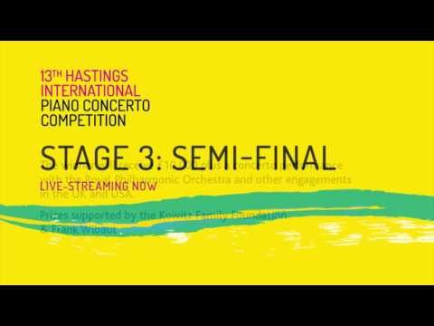 Hastings International Piano Concerto Competition - 2017 Livestream, 1 Mar.