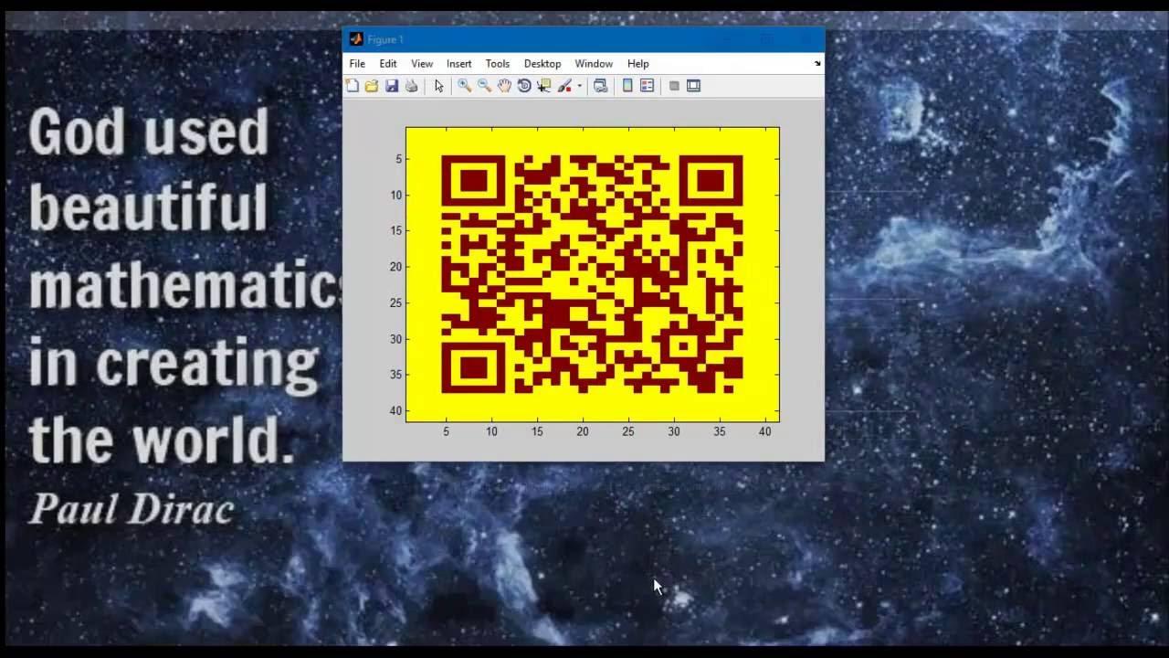 QR code matlab encode decode projects