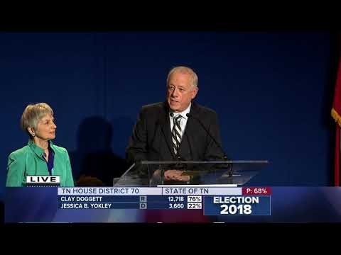 Phil Bredesen gives his concession speech