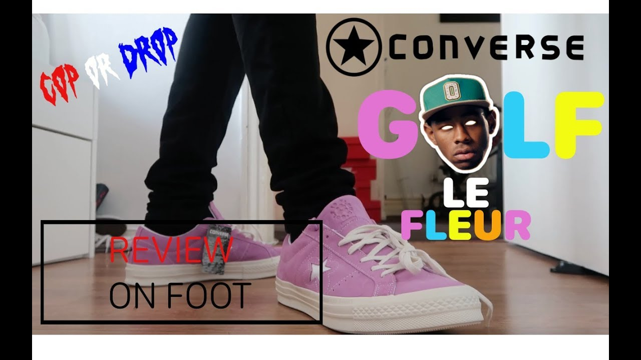 Converse X Tyler The Creator Golf Le Fleur Sneaker Review On Foot