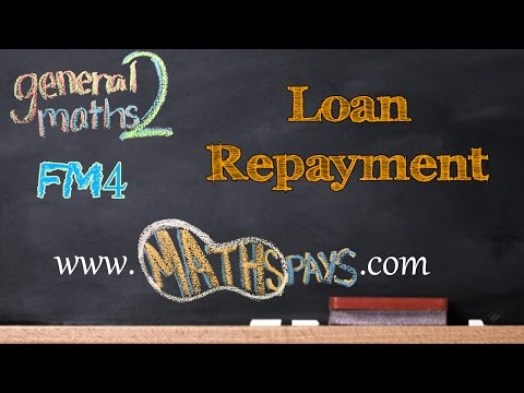 FM4 Loan Repayment Table