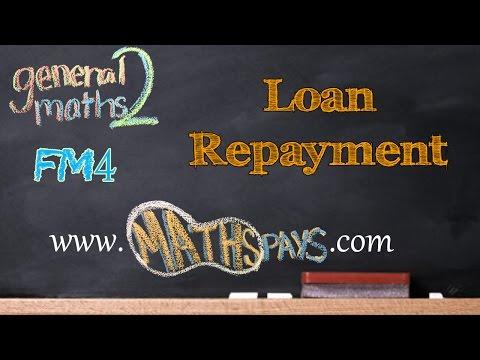FM4 Loan Repayment Table