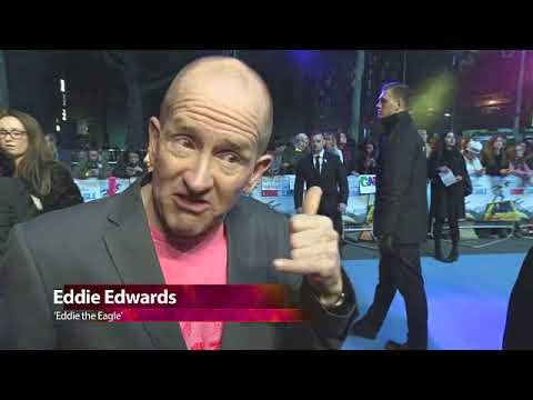 EVENT CAPSULE CHYRON - at 'Eddie the Eagle' - UK Film Premiere