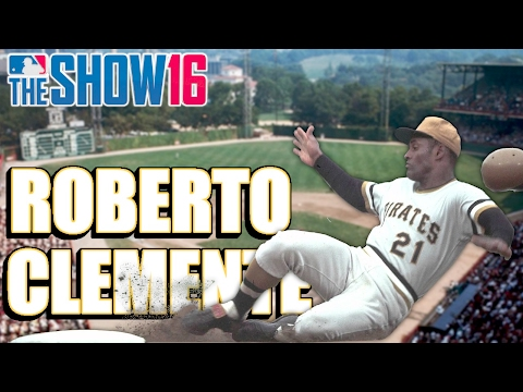 MLB THE SHOW 16 LEGEND - ROBERTO CLEMENTE - Player Lock Ep.149