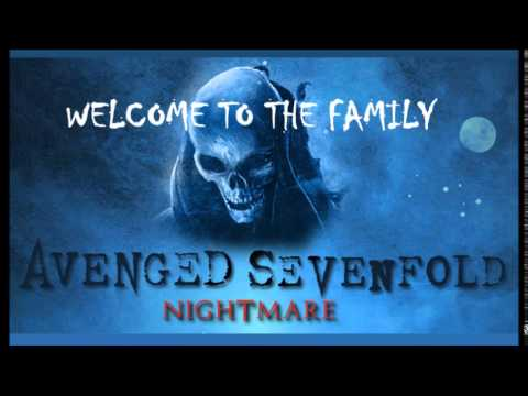 Avenged Sevenfold - Welcome To The Family (Instrumental)
