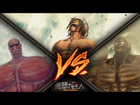 Attack on Titan / Eren Vs Armored Titan & Colossal Titan Gameplay - Final Mission