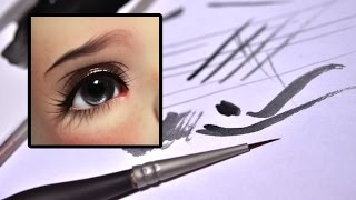 Diluting Paint for Eyelashes & Eyebrows
