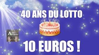 ON JOUE 10€ ! AU SUPER LOTO DE 13 MILLION D'EURO pour les 40 ANS !! 🙃 illiko FDJ