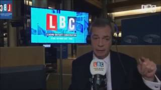 Nigel Farage Discusses the Problems with Muslim Immigration