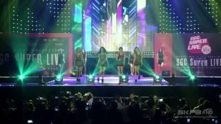 150906 Wonder Girls (원더걸스) - Tell Me (텔미) + Nobody (노바디) @ 서울걸즈컬렉션 SGC Super Live