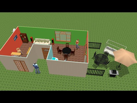 sweet home 3d 4 4 tutorial fr youtube. Black Bedroom Furniture Sets. Home Design Ideas