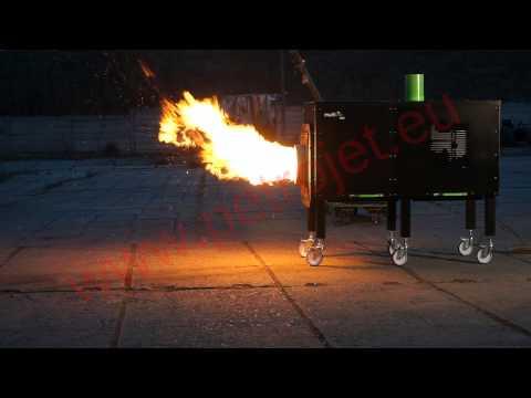 600kW biomass burner Petrojet / MultiBio