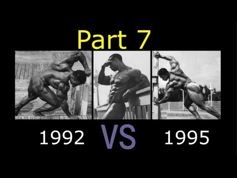 In Search Of The Best Kevin Levrone Part 7 (92 vs 95)