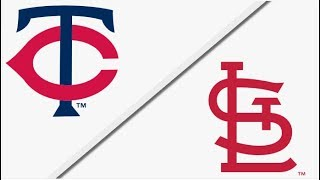 Minnesota Twins vs St. Louis Cardinals | Full Game Highlights | 5/8/18