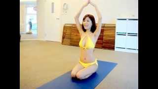 新一代蛇姬 台灣最性感火辣的瑜珈女神房妍 教大家如何瘦掰掰袖