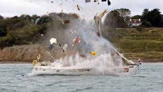 Yachting Monthly's Crash Test Boat - Explosion!