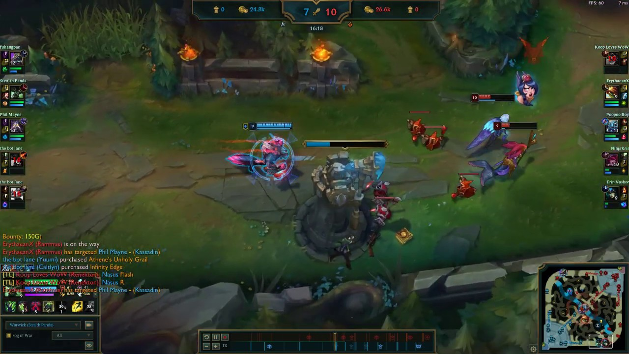 ANOTHER Warwick 'w' Bug CONFIRMED WITH VIDEO!!!