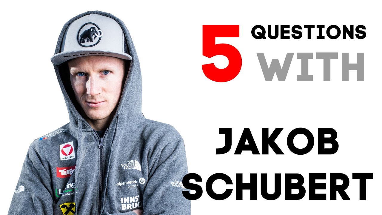 5 QUESTIONS WITH JAKOB SCHUBERT