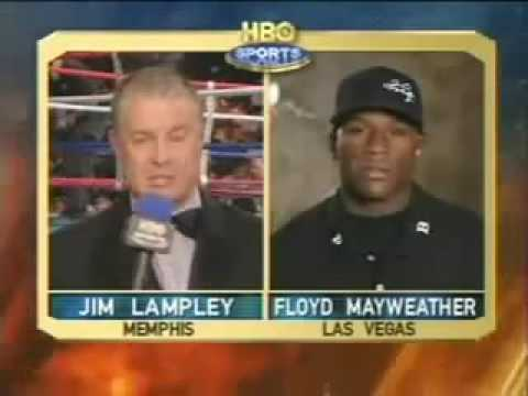 Floyd Mayweather JR trash talking genius - Gatti