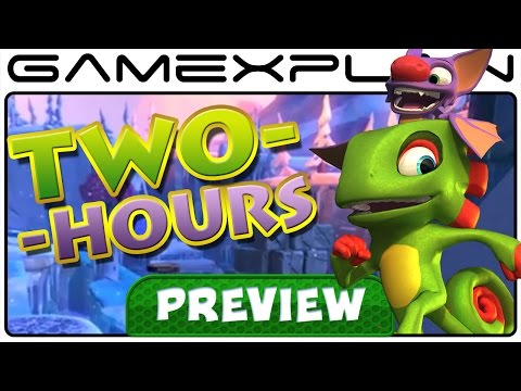 We Played Yooka-Laylee for 2 Hours! - Hands-On Preview