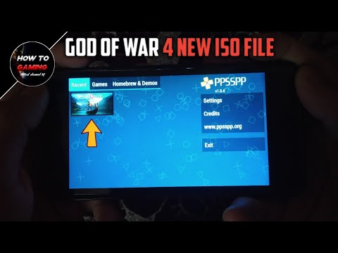 ||GOD OF WAR 4 IN PPSSPP EMULATOR||HOW TO DOWNLOAD GOD OF WAR 4 FOR ANDROID  IN PPSSPP EMULATOR||